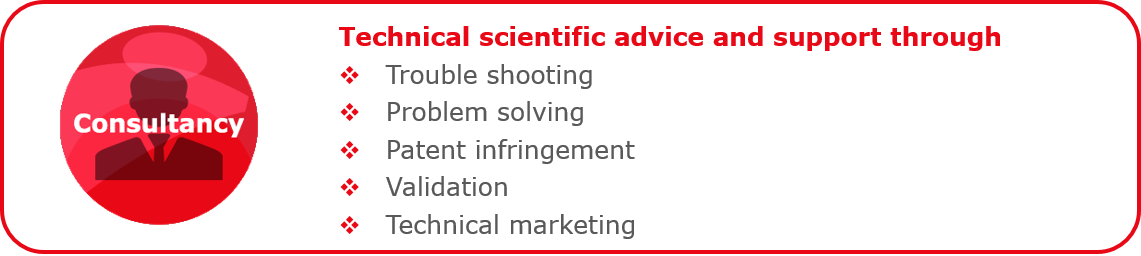 Technical scientific advice and support